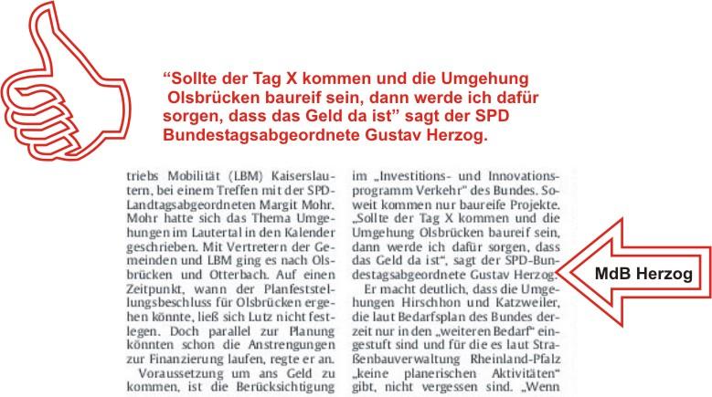"""""""RHEINPFALZ"""" 24.03.2009 - Ein Ausschnitt"""